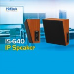 PORTech New Product Release: IS-640 IP Speaker (SIP Base)
